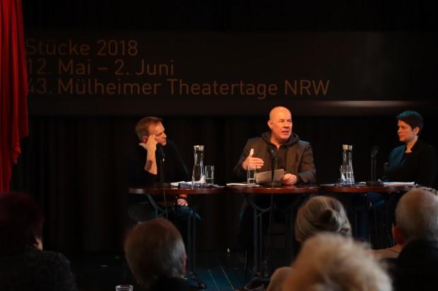 Pressekonferenz der 43. Mülheimer Theatertage NRW / Foto: Marie Eberhardt