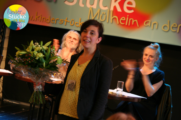 Gewinnerin Tina Müller / Foto: Marie Eberhardt