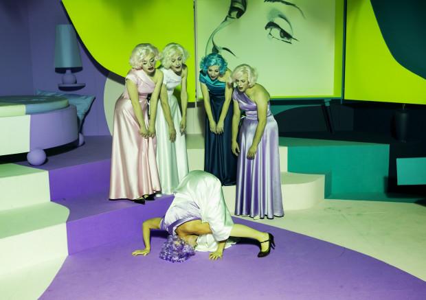 """Szene aus """"Prinzessin Hamlet"""" / Foto: Rolf Arnold"""