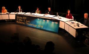 Jurydebatte. / Foto: Marie Eberhardt