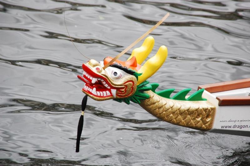 Das 24. Drachenboot-Festival in Mülheim kann nicht stattfinden. Foto: Joshua Belack© MST