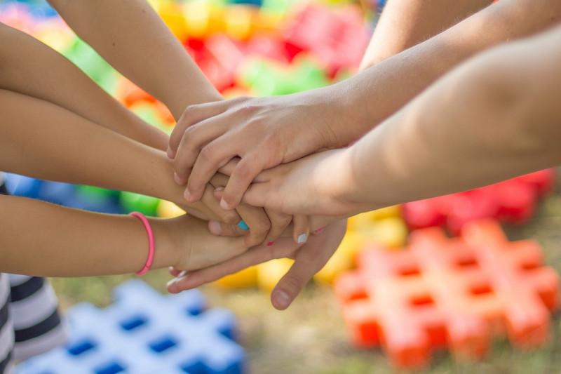 Familie, Kinder, Gemeinsam sind wir start