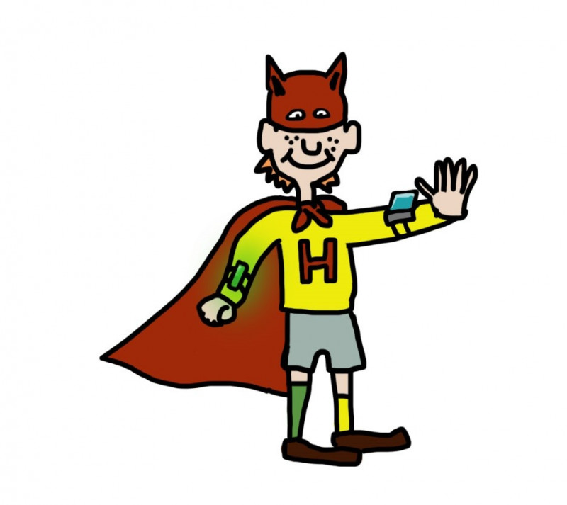 Eine Superhelden-Geschichte der Astrid Lindgren-Schule
