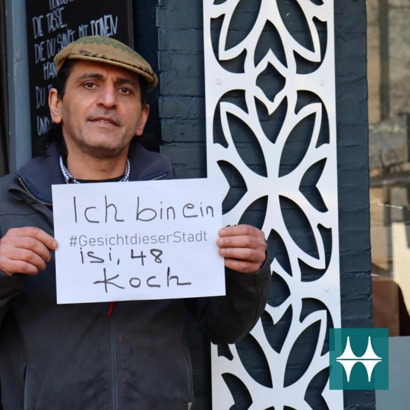 Isi: Koch und Imbissbesitzer in der Altstadt - Gesicht dieser Stadt