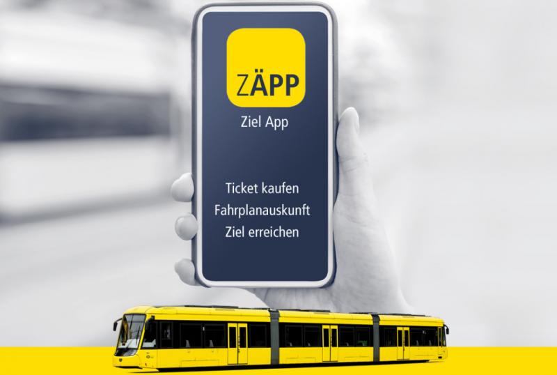 App ZÄPP - Die Ruhrbahn-App - Foto: Ruhrbahn