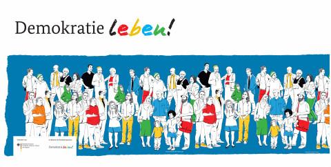 """""""Demokratie leben!"""" / Andreas Schickert"""